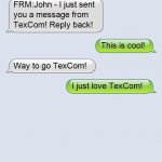 TexCom Text Message