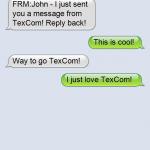 TexCom Text Message